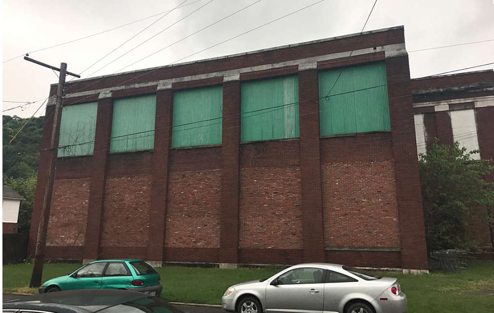 Street side of the form D&H warehouse.