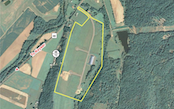 Aerial view image of the Fort Ashby, WV Business and Technology Park Loaction